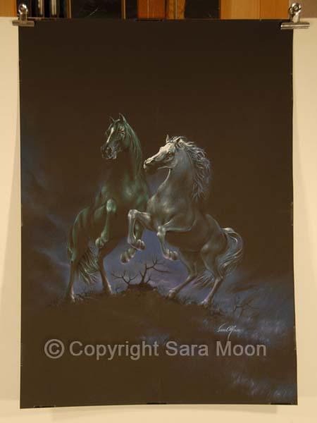Original 'Moon Dance by Sara Moon