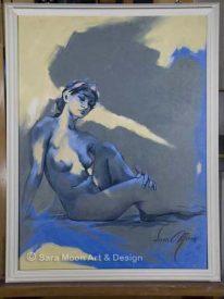 Original 'Blue Nude l' For Sale