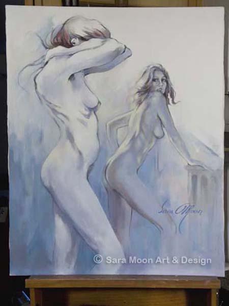 'Modelling Break l' by Sara Moon