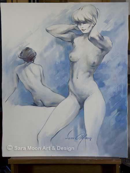'Modelling Break ll' by Sara Moon