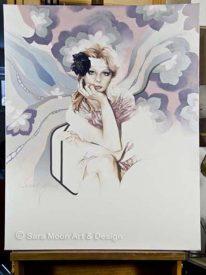 Original 'Angel' by Sara Moon