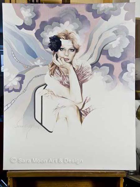 "Original ""Angel"" by Sara Moon"
