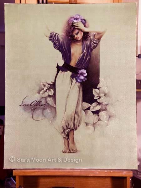 ORIGINAL 'Carmen' by Sara Moon