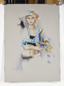 Original 'Bridgette ll' by Sara Moon