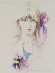 'Hibiscus' by Sara Moon