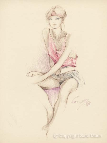 Sketch No.8 by Sara Moon