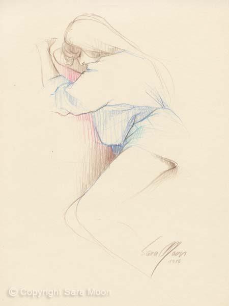 Sketch No.9 by Sara Moon