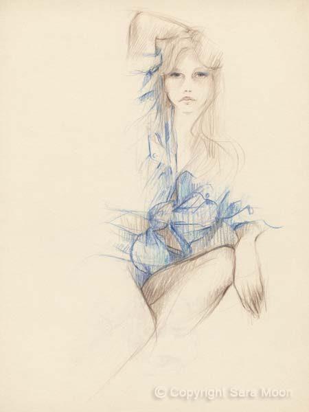 Sketch No.10 by Sara Moon