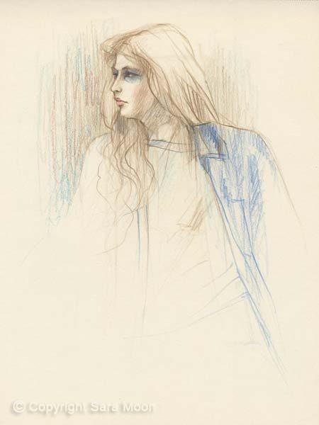 Sketch No.12 by Sara Moon