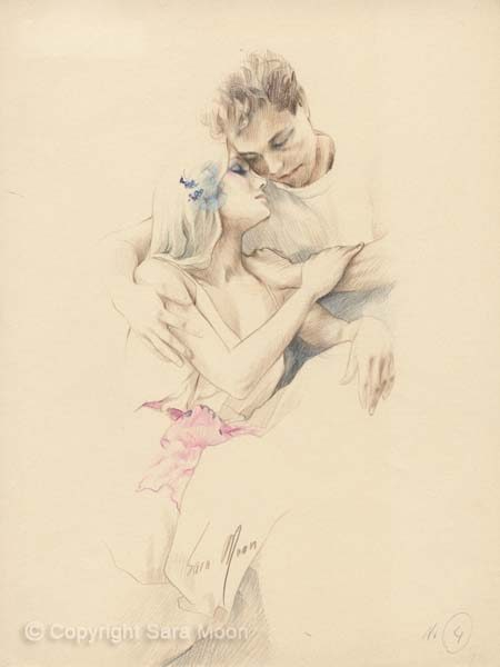 Sketch For Romance by Sara Moon