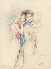 American Dreamers Sketch by Sara Moon