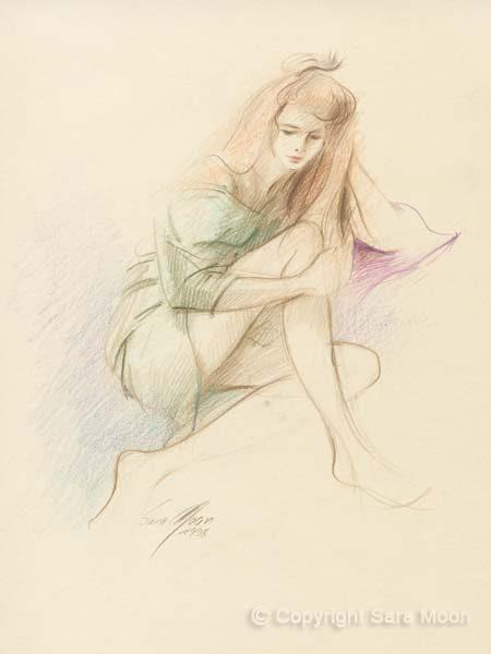 Sketch No.17 by Sara Moon
