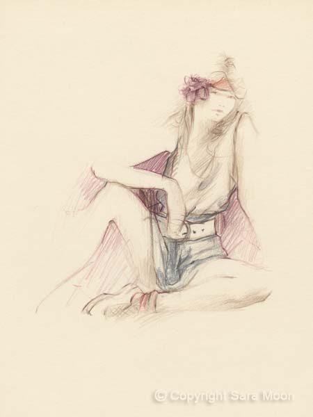 Sketch No.18 by Sara Moon