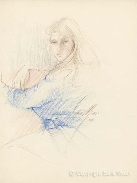 Sketch No.19 by Sara Moon
