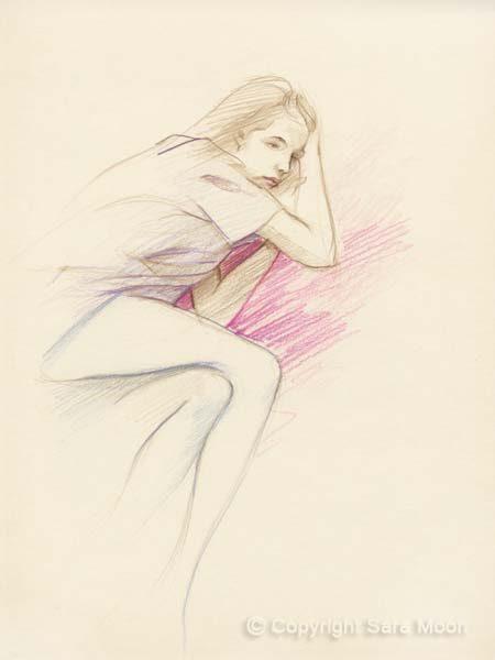 Sketch No.22 by Sara Moon