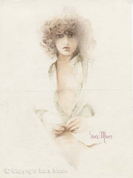 Sketch for Gina by Sara Moon