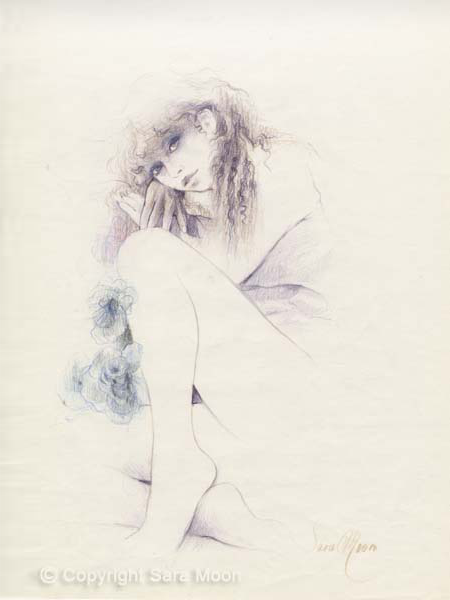 Sketch for Tristesse by Sara Moon