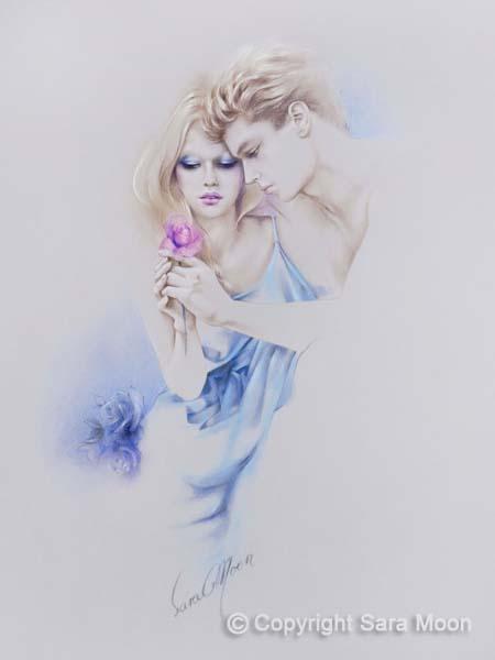 Geschenkte Rose by Sara Moon