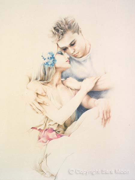 Young Lovers by Sara Moon