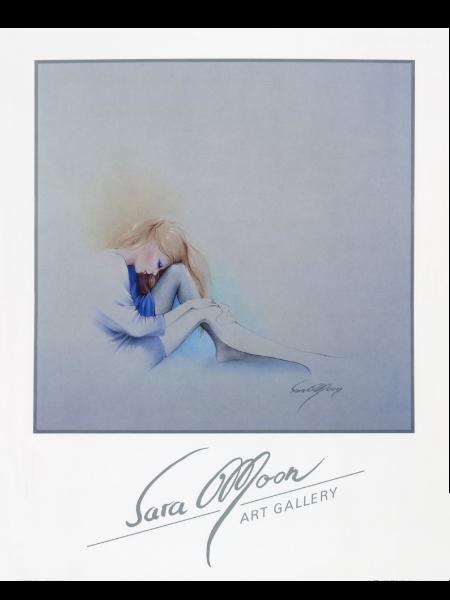 Sara Blue by Sara Moon