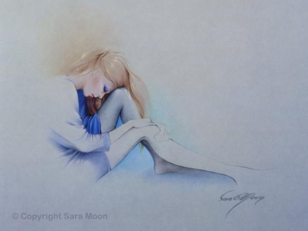 'Sara Blue' Prints by Sara Moon