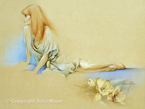 'Waiting' Prints by Sara Moon